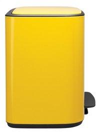 Brabantia Pedaalemmer Bo daisy yellow 3 x 11 l-Linkerzijde
