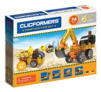 Clicformers Construction set 6-in-1-Linkerzijde