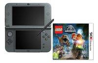 Nintendo console New 3DS XL noir + Lego Jurassic World ANG