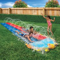 Banzai opblaasbare waterglijbaan Splash Sprint Racing Slide-Afbeelding 1