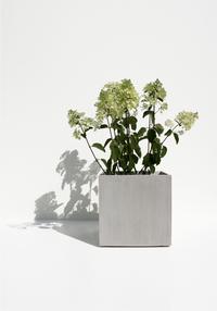 Cosapot's Vierkante bloempot Milano whitestone-Afbeelding 1