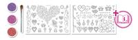 Glitza 80 Designs Little Love-Vooraanzicht