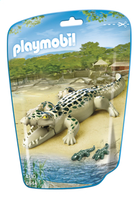 Playmobil City Life 6644 Alligator avec bébés-Avant