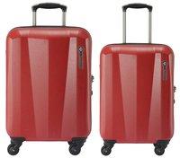 Saxoline Harde reistrolley Milan Spinner rood 68 cm-Artikeldetail