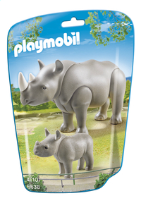 Playmobil City Life 6638 Neushoorn met baby