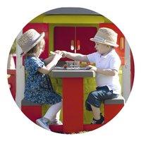 Smoby table pique-nique pour maisonnettes Neo Jura Lodge et My Neo House-Image 1