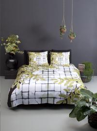 Suela Home Dekbedovertrek Chanine katoensatijn 240 x 220 cm-Afbeelding 2