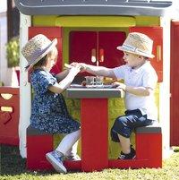 Smoby table pique-nique pour maisonnettes Neo Jura Lodge et My Neo House-Image 2