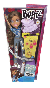 Bratz poupée mannequin Hello My Name Is Yasmin-Avant
