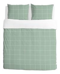 Walra Housse de couette Square feet jade coton-Avant