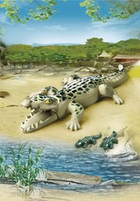 Playmobil City Life 6644 Alligator met baby's-Afbeelding 1