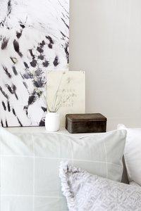 Walra Housse de couette Square feet jade coton 240 x 220 cm-Détail de l'article