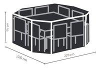 Outdoor Covers polyethyleen beschermhoes 2,2 x 2,2 m-Artikeldetail