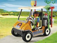 Playmobil City Life 6636 Dierenverzorger met materiaal-Afbeelding 1