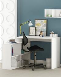 Chaise de bureau Argonaut noir-Image 2