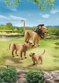 PLAYMOBIL City Life 6642 Famille de lions-Image 1