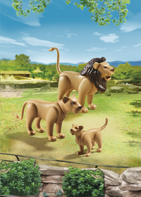 PLAYMOBIL City Life 6642 Leeuwenfamilie-Afbeelding 1