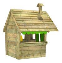 Fatmoose houten speelhuisje Hippohouse Heavy XXL-Achteraanzicht