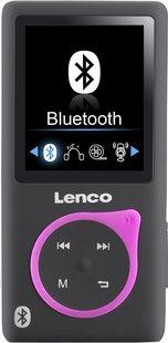 Lenco lecteur MP4 Xemio-767 BT 8 Go noir/rose-Avant