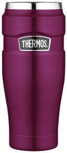 Thermos bouteille thermos Travel Mug 0,47 l framboise