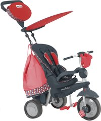 smarTrike tricycle Splash noir/rouge