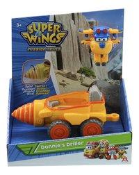 Véhicule  Super Wings Donnie's Driller-Avant