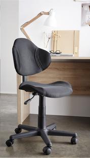 Chaise de bureau Argonaut noir-Image 1