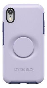 Otterbox cover Otter + Pop Symmetry Series Case voor iPhone Xr Lilac Dusk-Achteraanzicht