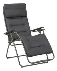 Lafuma chaise longue Futura Be Comfort Dark Grey-Côté gauche