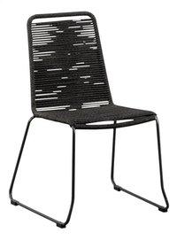 Suns Green Chaise de jardin Elos noir