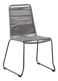 Suns Green Chaise de jardin Elos gris