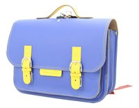# Own Stuff Boekentas Cobalt/Yellow 38 cm