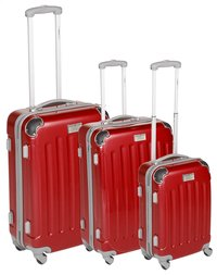 Transworld Valise rigide Rome Spinner rouge