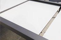 Jati & Kebon verlengbare tuintafel Livorno lichtgrijs/antraciet 220 x 106 cm-Afbeelding 3