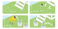 Fatmoose schommel BoldBaron Boost XXL met groene glijbaan-Artikeldetail