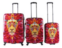 Saxoline Valise rigide Jungle Lion-Avant