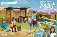 PLAYMOBIL Spirit 70119 Arena Lucky en Javier-Vooraanzicht