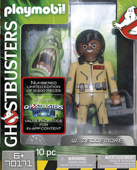 PLAYMOBIL Ghostbusters 70171 Ghostbusters Edition Collector W. Zeddermore-Avant