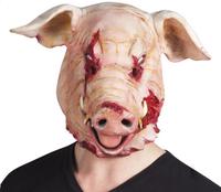 Masque cochon sanguinolant-Avant