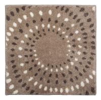 Floris badmat Spray zand 60 x 60 cm
