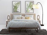Zo! Home Housse de couette Lino coton vert menthe 260 x 220 cm-commercieel beeld