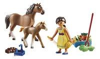 PLAYMOBIL Spirit 70122 Apo avec cheval et poulain-Avant