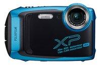 Fujifilm digitaal fototoestel FinePix XP 140 blauw-Vooraanzicht