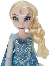 Mannequinpop Disney Frozen Elsa met extra jurk-Bovenaanzicht