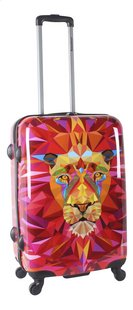 Saxoline Valise rigide Jungle Lion Spinner 68 cm-Côté gauche