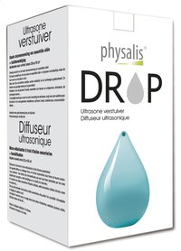 Physalis diffuseur ultrasonique Drop bleu-Avant