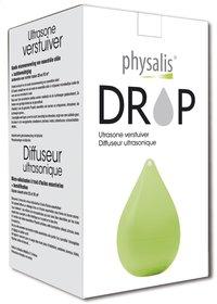 Physalis ultrasone aromaverstuiver Drop groen-Vooraanzicht