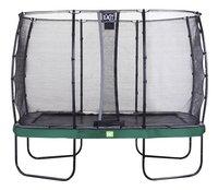 EXIT ensemble trampoline Elegant Economy L 3,66 x Lg 2,14 m vert-Avant