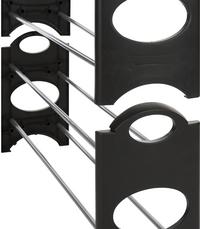 Casibel Schoenenrek Nice & Easy zwart/grijs 12 paar schoenen-Artikeldetail