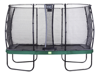 EXIT ensemble trampoline Elegant Economy L 4,27 x Lg 2,44 m vert-Avant